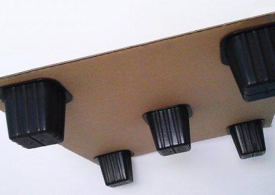 Palettes carton et plots plastique Losotech