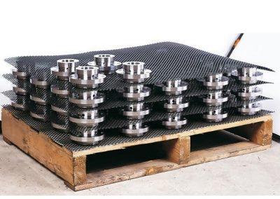 Intercalaires en grille plastique