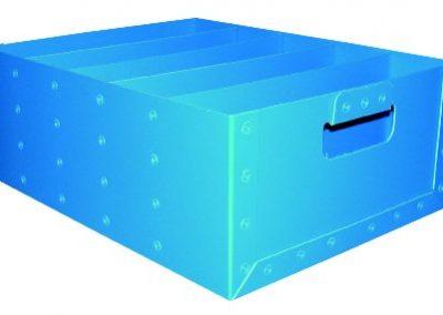 Bac plastique compartimenté