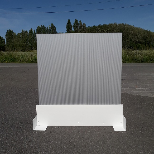 Caisse palette plastique repliable alvéolaire